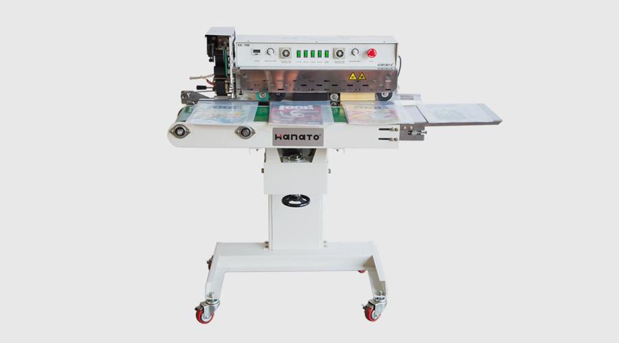 Model EX-700-HP Hanato continuous Band Sealer