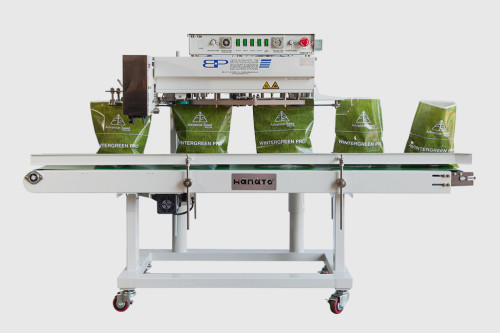 Model EX-720-HP Hanato continuous Band Sealer
