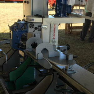 Model 100 Fischbein high speed bag stitcher