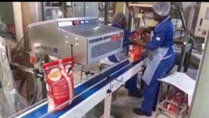 Buckle Packaging Saxon Heat Sealer sealing bags closed